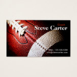 American Football Coach or Player Card