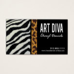 Art Diva Graphic Designer Business Card