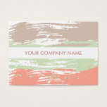 Artistic Pastel Color Business Cards