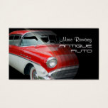 Auto Restoration business cards/1957 buick Business Card
