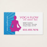 Bright and Modern Yoga Business Cards