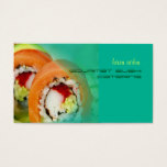Catering business, photo template business card