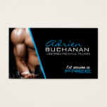 Certified Personal Trainer Business Card