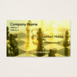 Chess Board Business Card