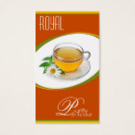 Cup of tea business profile card