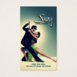 Dance Studio Instructor Business Card