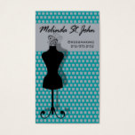 Dressmaker Mannequin Sewing Fashion Designer Business Card