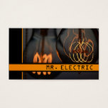 Electric Electrician Business Card