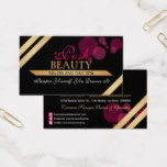 Elegant Beauty Salon Business Card