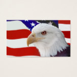 Flag and Eagle Business Card