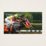 Horse Race Finish Business Card