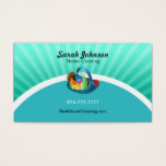 House Cleaning Business Card Template