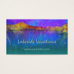 Lakeside Vacations Business Card