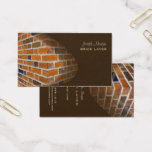 Masons, stone workers business cards