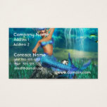 Mermaid Business Cards
