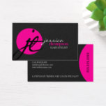 Modern and Elegant Stylist Business Card