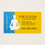 Modern Yoga Business Cards
