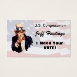 Politician Business Card