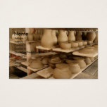 Pottery drying business card