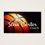 Professional Basketball Coach Player Sport Card