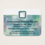 Professional Painter Business Card