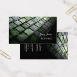 Slate Roof, Roofing, photo business cards