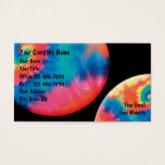 Tie Dye Business Cards