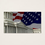 United States Capital & Flag Business Card
